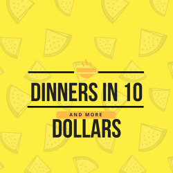 Dinners in 10 Dollars