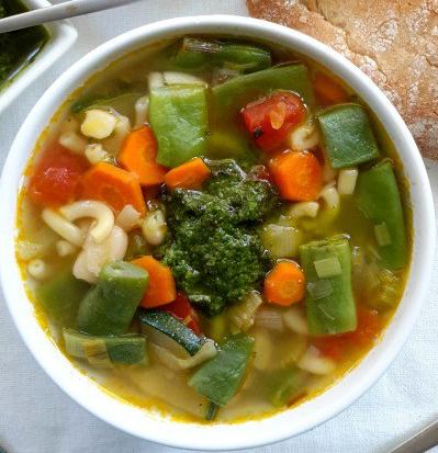 how to make soup e pistou