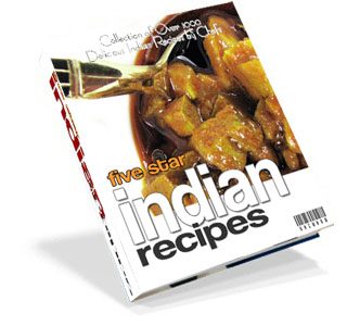 Make wonderful Mouthwatering dishes at home and surprise your loved ones, friends and relatives. It is not just a collection of recipes, Five Star Indian Recipes E-book has detailed step-by-step instructions, which actually shows, you how Indian 5 Star