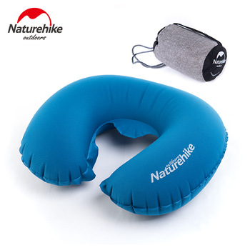travel portable pillow,Naturehike Travel Pillow Portable Folding Air Inflatable Pillow Ultral Light Travel Necessity NH17T011-U