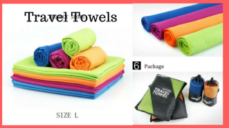 Colorful Travel Towels