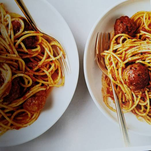 30-Minute Spagetti and Meatballs